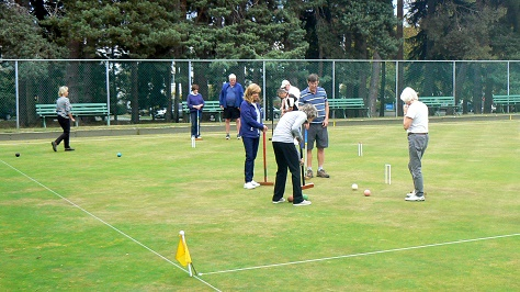 Croquet Monthly Fun Tournament @ Victoria Lawn Bowling Club
